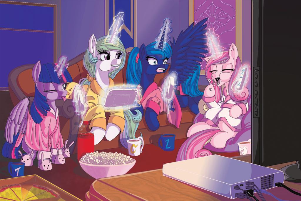 Princess Gaming Night by Princrim