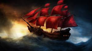 Ship on the Highseas