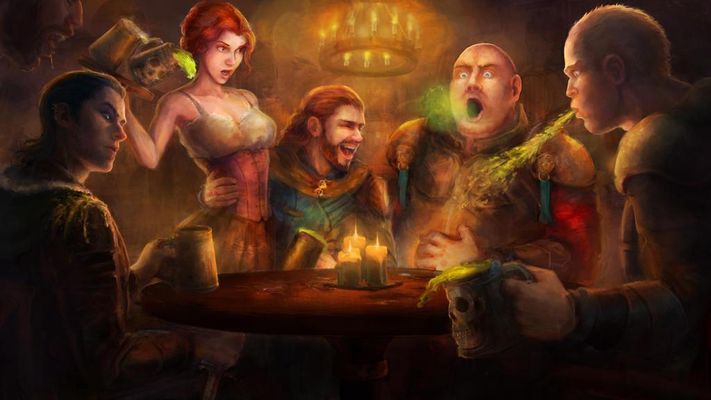 Tavern by AyarnE