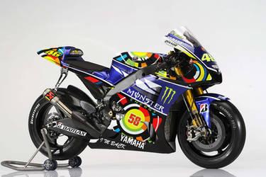 Valentino Rossi Yamaha 2013 by SAMUXX