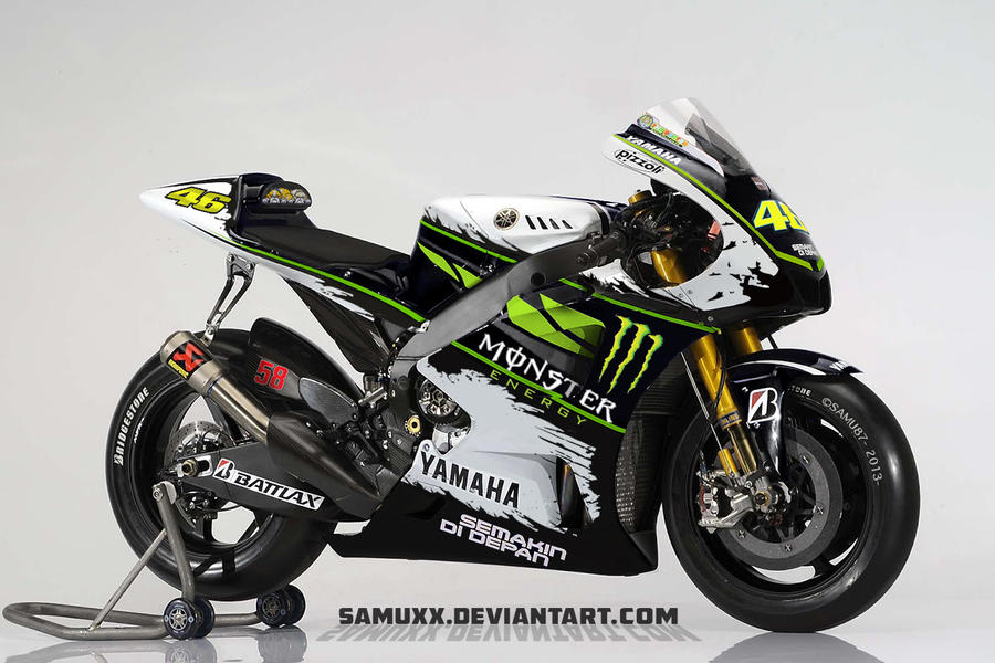 YAMAHA MONSTER ENERGY 2013