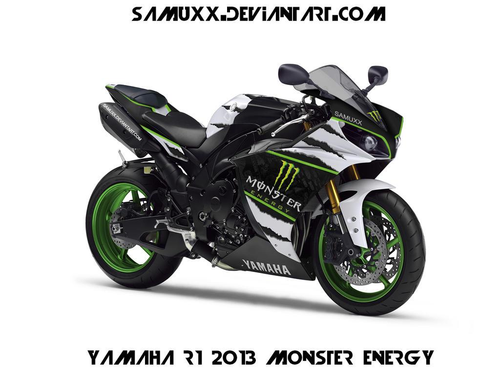 YAMAHA R1 2013 MONSTER ENERGY by SAMUXX