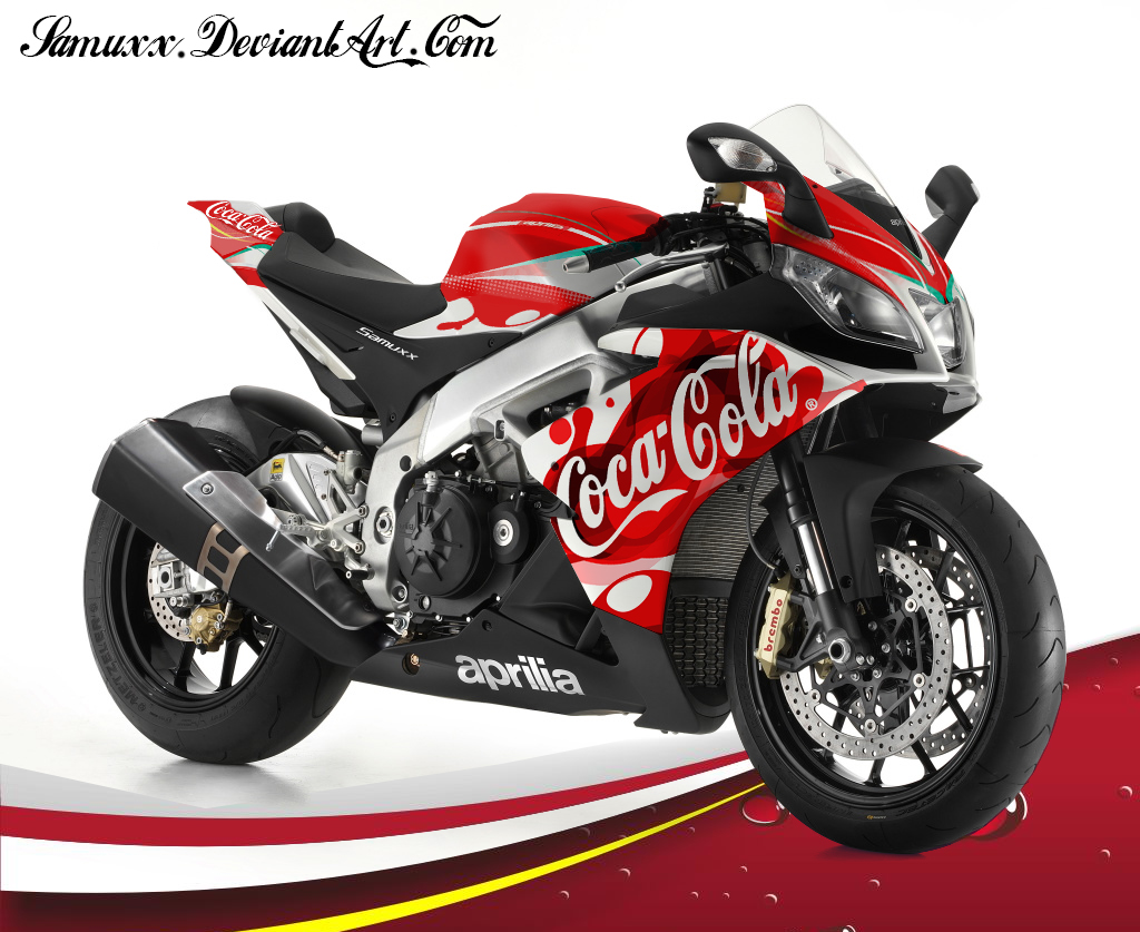 Aprilia RSV4 Coca Cola by SAMUXX