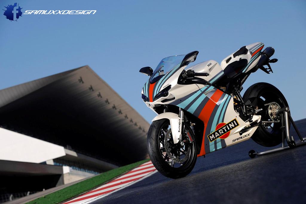 Ducati 1198 Martini Racing by SAMUXX