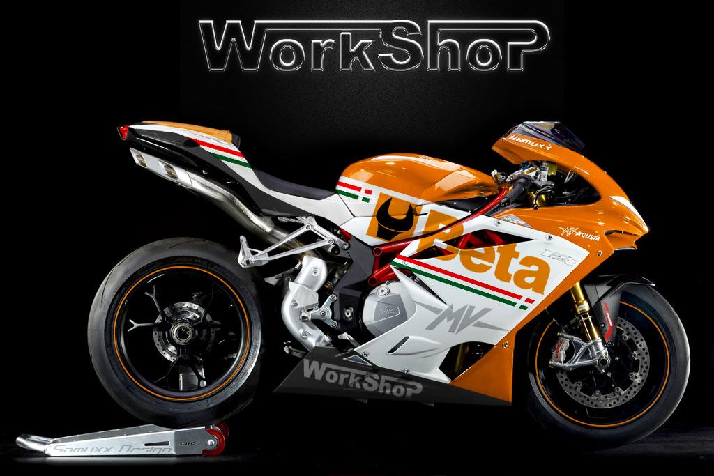 Mv Agusta F4 Beta Tools - WorkShop by SAMUXX