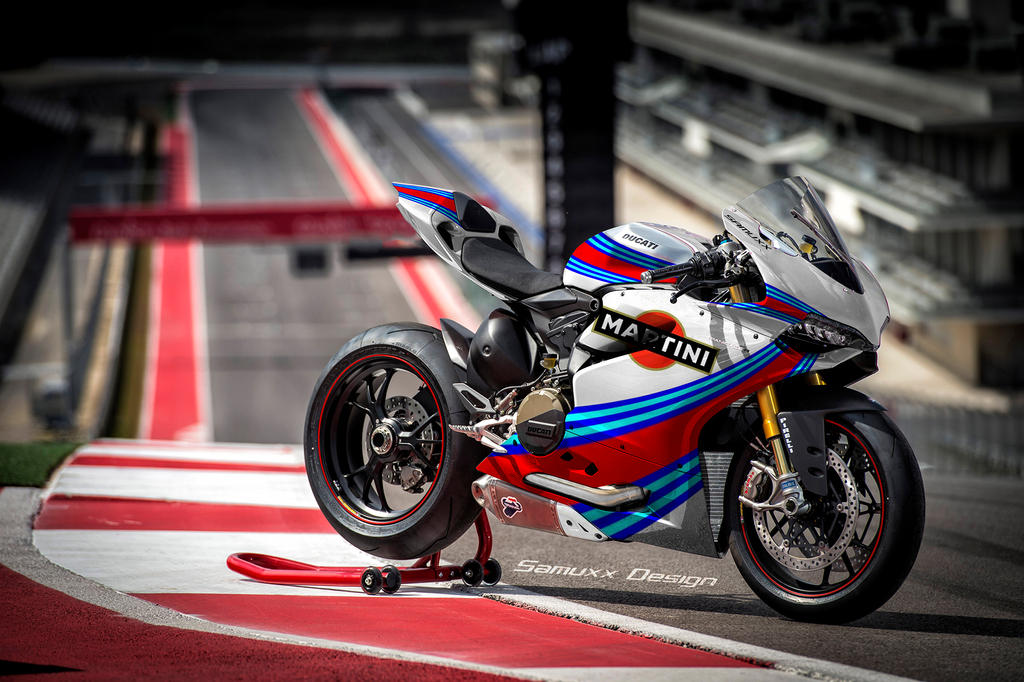 Ducati 1199 Panigale Martini Racing by SAMUXX