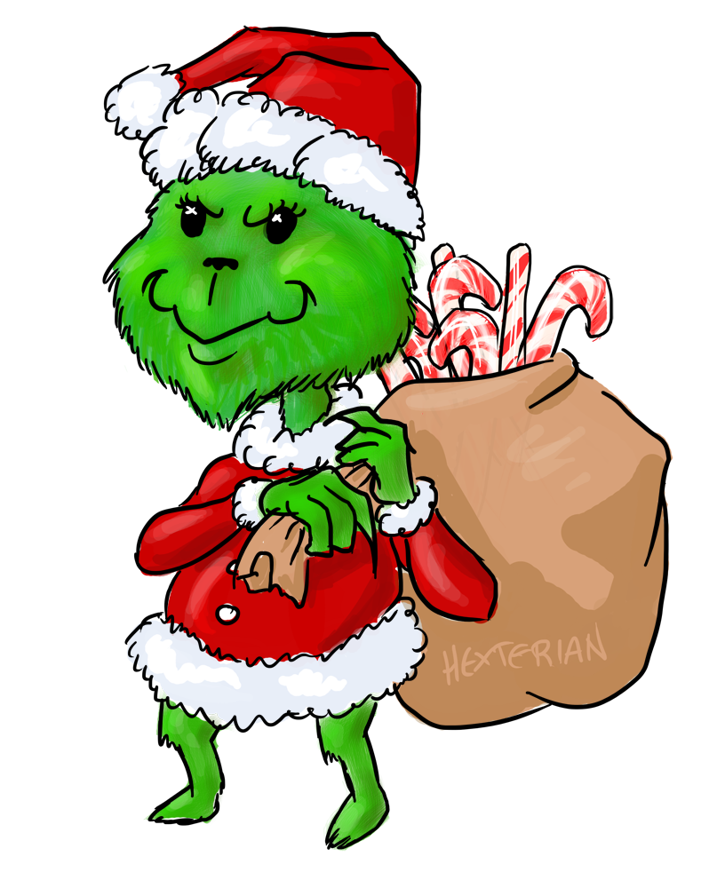 You're a Mean One, Mr. Grinch by Hexterian