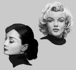 Monroe, Hepburn