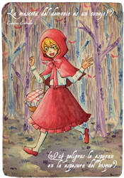 Little red riding hood Usagi by lamascotadeldemonio