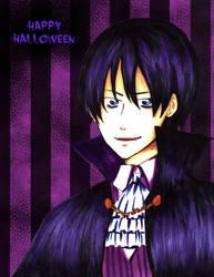Yami Happy Halloween by lamascotadeldemonio