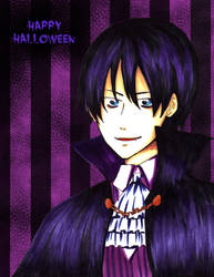 Yami Happy Halloween by lamascotadeldemonio