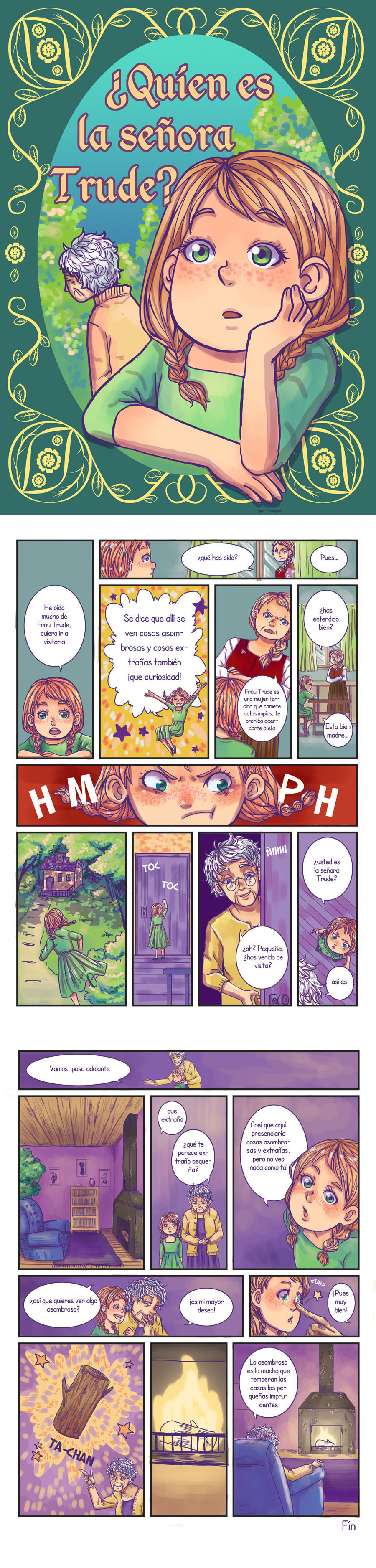Comic by lamascotadeldemonio