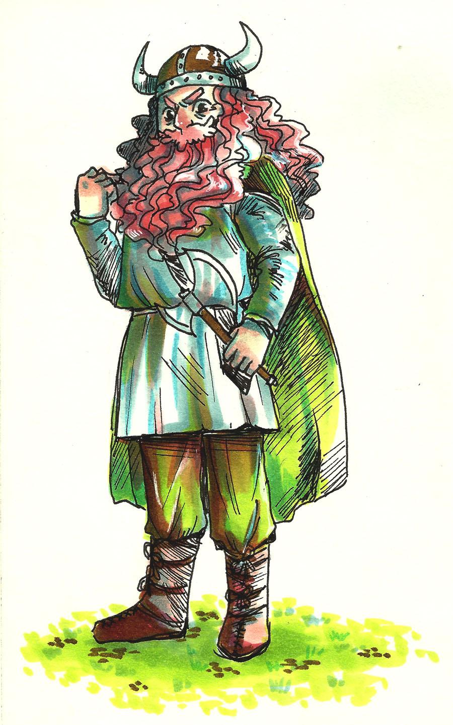 Viking! by lamascotadeldemonio