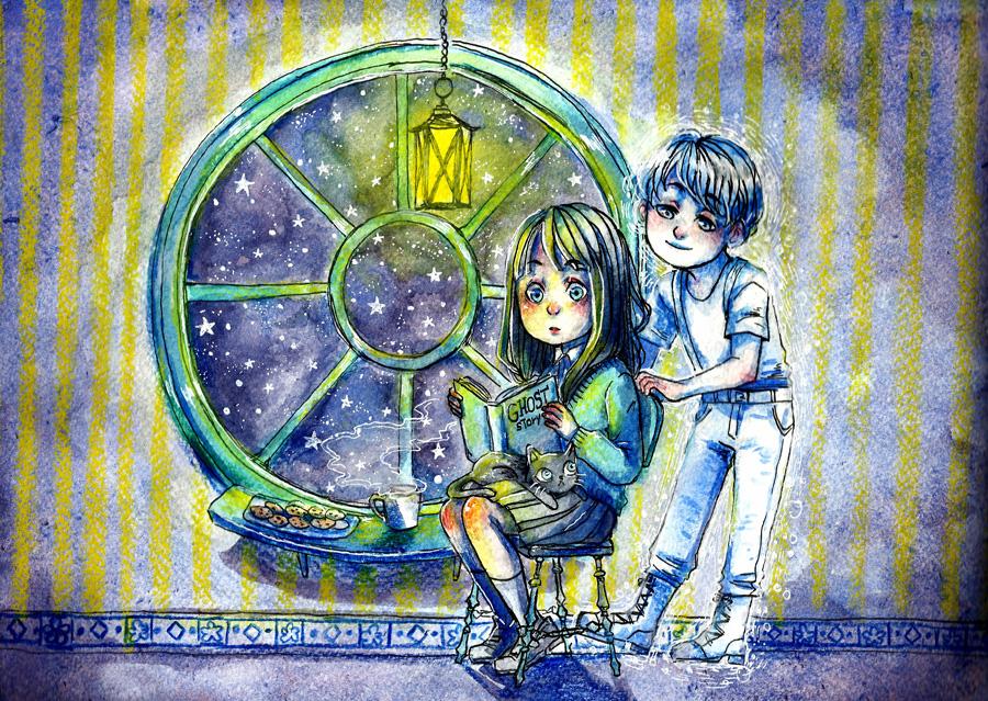 Ghosts love ghosts stories by lamascotadeldemonio