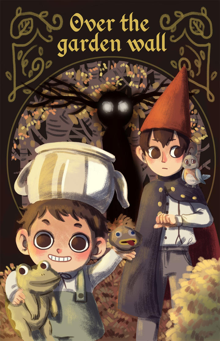 Over The Garden Wall By Lamascotadeldemonio On Deviantart