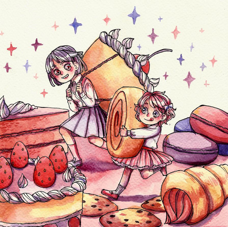 Sweet things by lamascotadeldemonio