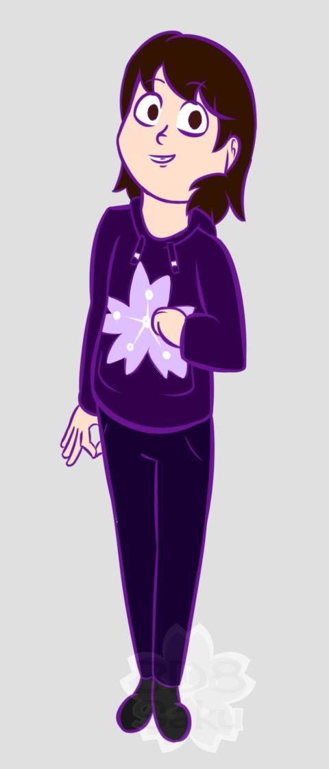 I dreamt that I drew Saki like this
