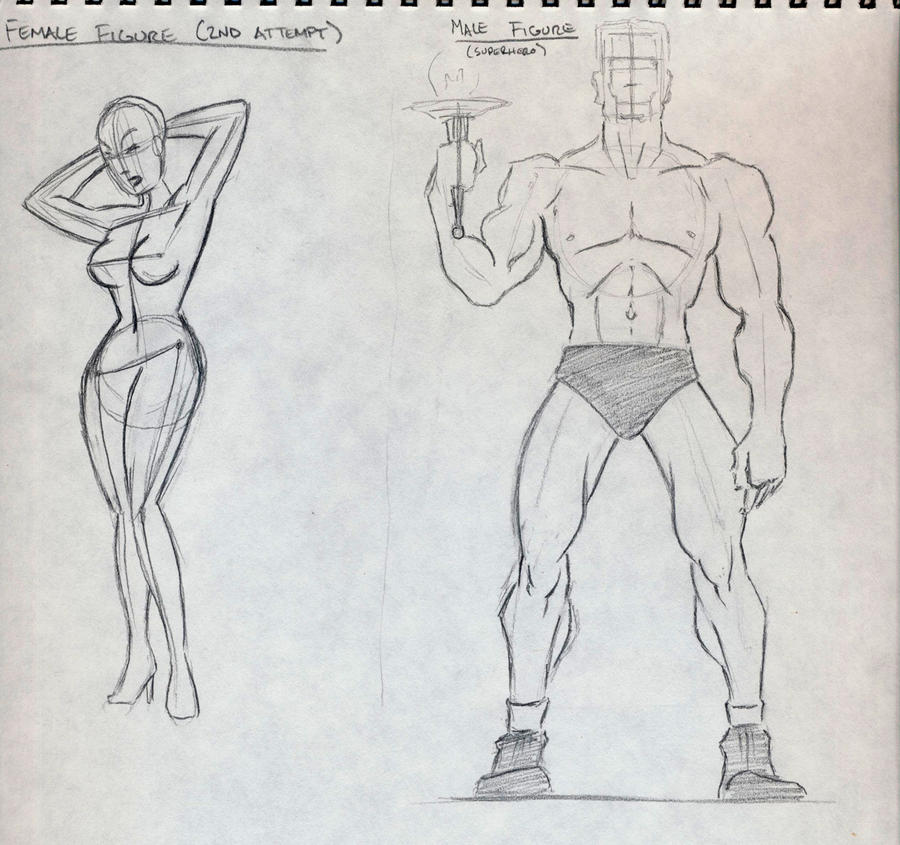 Cartoon Anatomy by Porcelain-Joe on DeviantArt