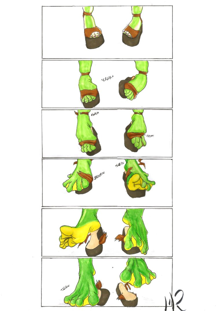 Foot tf frog by matthewjamesrann on deviantart for Frog transformation