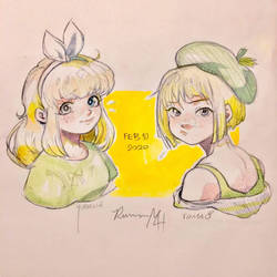 Blondes From Afar (OCs)
