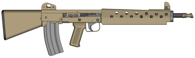 Scavengers Custom Rifle by Kain241