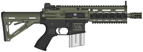 VSAR-MK2 Assault Carbine, Civilian Model by Kain241