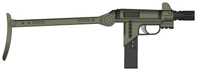 Snub Striker Pistol by Kain241