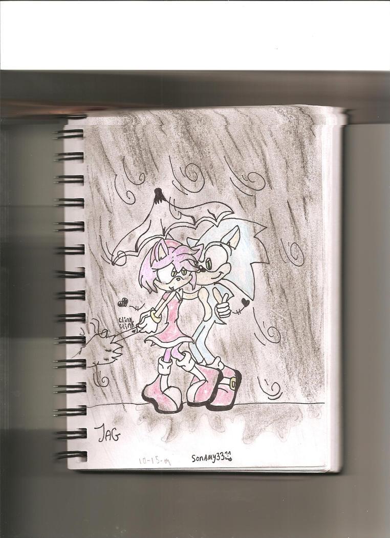 sonamy'in the rain' by sonamy33