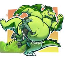 Green Gurgly Gassy Giras