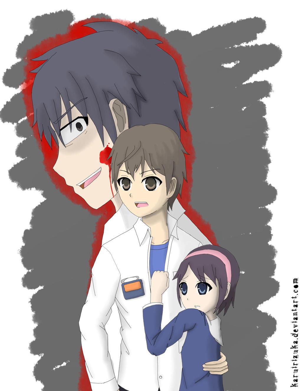 Corpse Party Satoshi Yuka Kizami By Karuirizuka On Deviantart