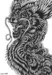 Noodly Dragon II by arsnoctu