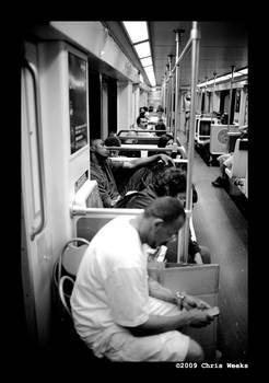 peaceful metro