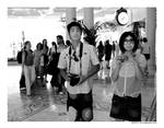 asian tourists in las vegas...