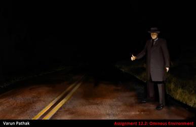 ominous hitchhiker