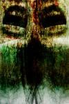 Scream in green light