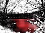 Bloody lake
