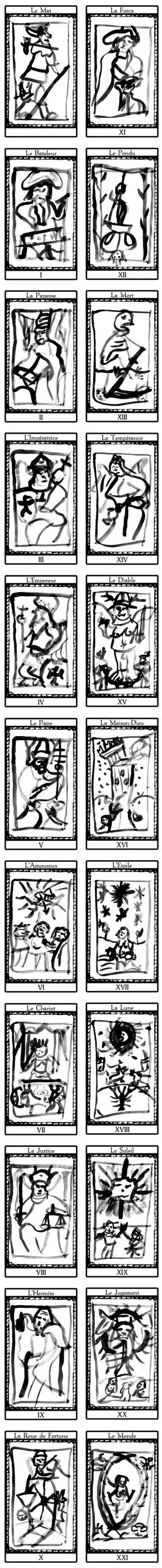 Tarot de Marseille by tomabw