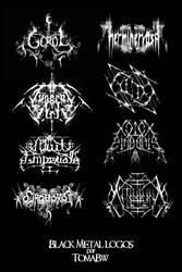 Black Metal typo by tomabw