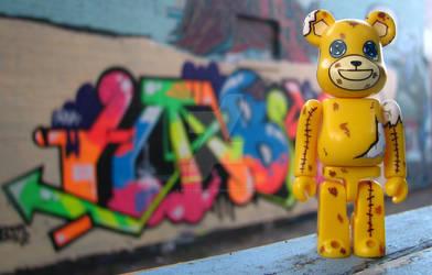 Series 16 SF Bearbrick by riotgrrl500