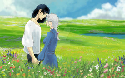 Howl and Sophie Speed Paint