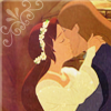 Kiss between two Knights icon by umi-pryde