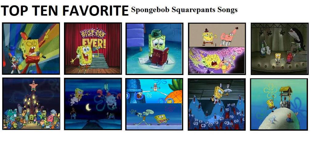 Top ten spongebob songs by mlp vs capcom on deviantart for Top ten house songs