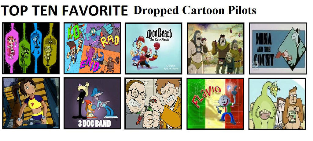 Top Ten Dropped Cartoon Pilots By Mlp Vs Capcom