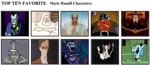Top Ten Favorite Mark Hamill Characters