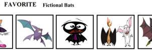 Top 5 Favorite Fictional Bats
