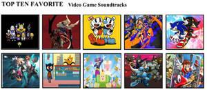 Top Ten Favorite Video Game Soundtracks