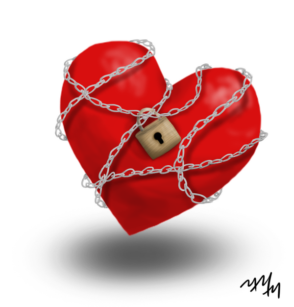 Chained Heart by CalicoKitties on DeviantArt