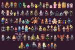 Super Smash Bros Ultimate Characters 8 Bit