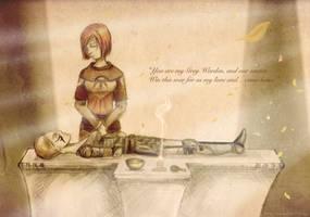 The Grey Warden's Sacrifice by CePheala