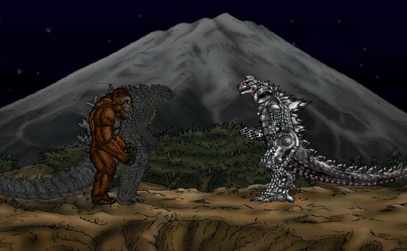 Godzilla And Kong Vs Mechagodzilla By Anthonygoody On Deviantart